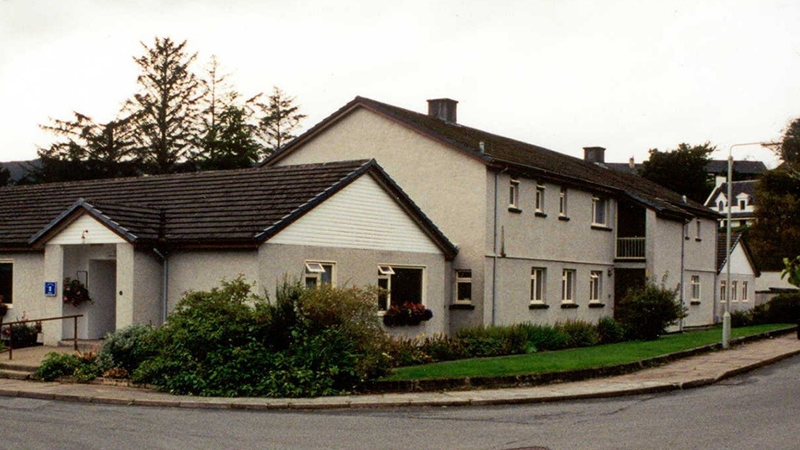 Budhmor House Care Home from outside