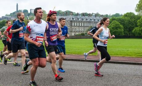 Edinburgh runners